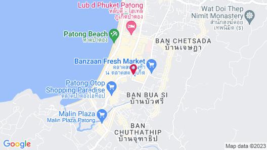 Millennium Resort Patong Phuket Map