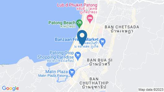 Patong Resort Map