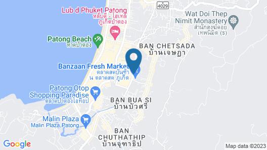 The Crib Patong Map