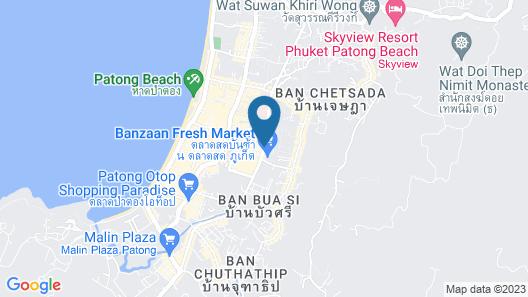 Mirage Express Patong Phuket Hotel Map