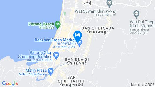 Patong Buri Resort Map
