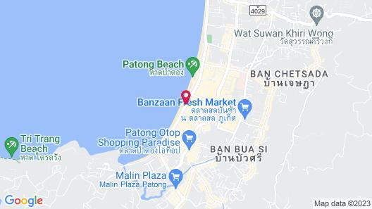 Patong Beach Hotel Map