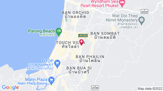 Ocean & Ole Hotel Patong Map