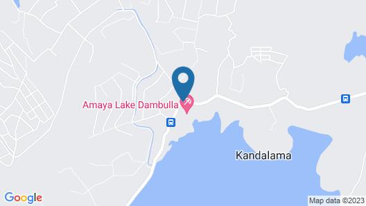 Amaya Lake Dambulla Map