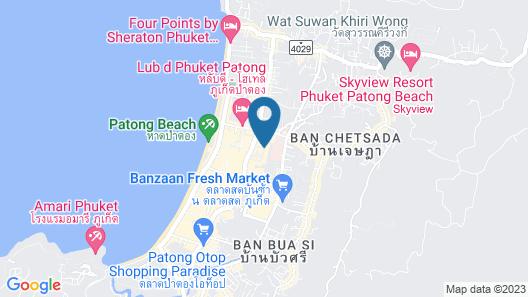 The Royal Paradise Hotel & Spa Map