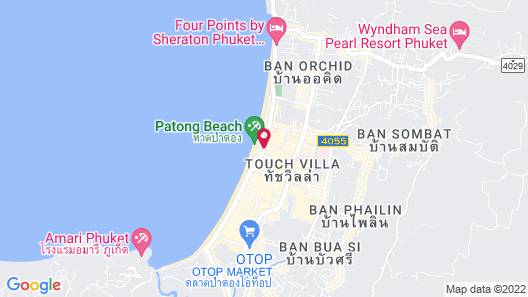 The Bloc Hotel Map