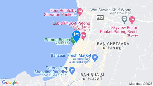 Impiana Resort Patong Map