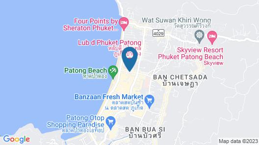 Kokotel Phuket Patong Map