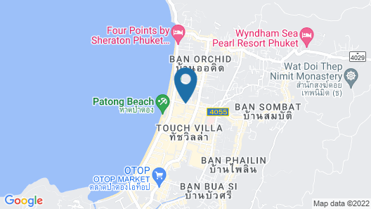 Lub d Phuket Patong Map