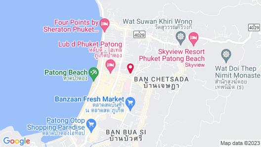 SOHO Rooms Patong Map