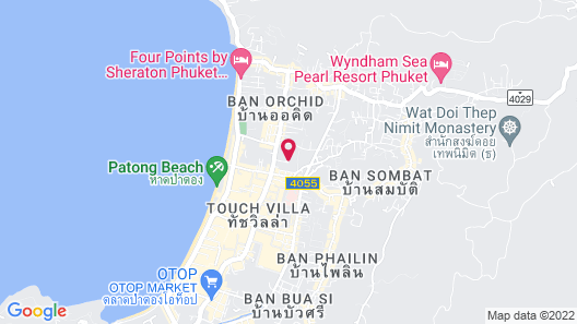 Palmyra Patong Resort Map