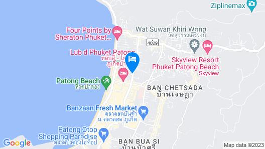 Hotel Indigo Phuket Patong, an IHG Hotel Map