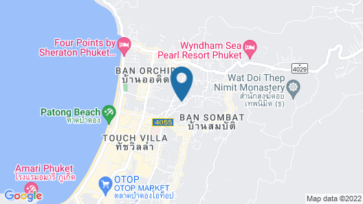 Patong Mansion Hotel Map