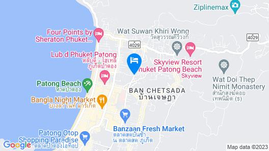 Bauman Residence Map