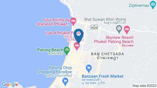 Andaman Embrace Patong Map