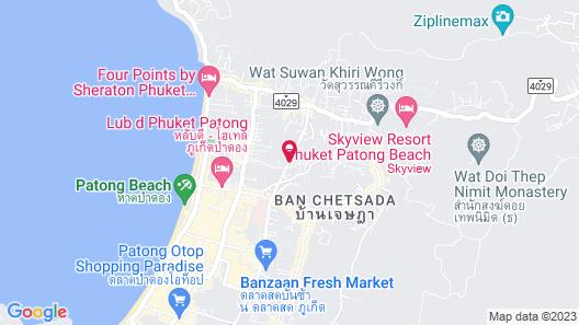 The Marina Phuket Hotel Map