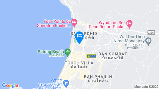 X2 Vibe Phuket Patong Map