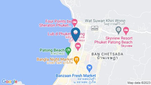 Holiday Inn Express Phuket Patong Beach Central, an IHG Hotel Map