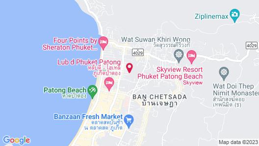 Deevana Patong Resort & Spa Map