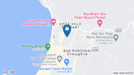 Deevana Patong Resort & Spa Map
