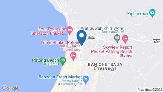 Andatel Grandé Patong Phuket Map