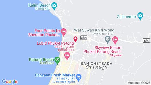 Mövenpick Myth Hotel Patong Phuket Map