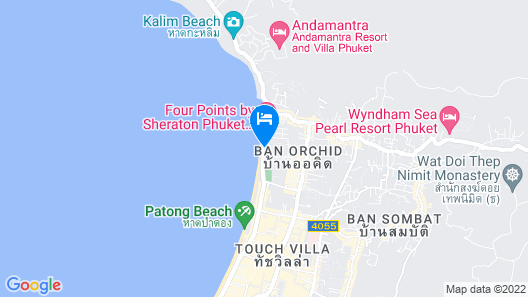 Phuket Graceland Resort And Spa Map