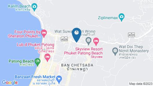 The Frutta Boutique Patong Beach Map