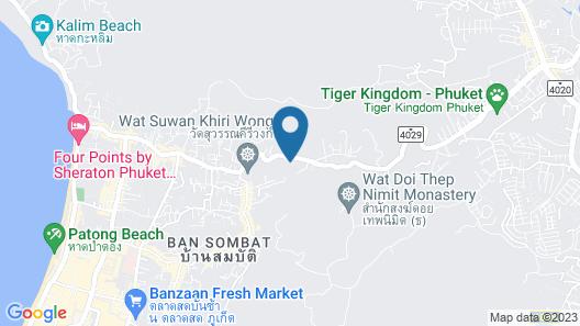 MAI HOUSE Patong Hill Map