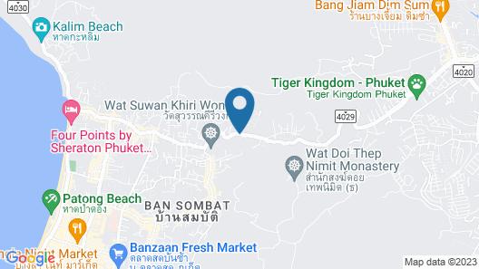Wyndham Sea Pearl Resort Phuket Map