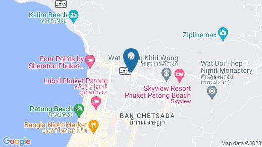 Patong Bay Residence Map