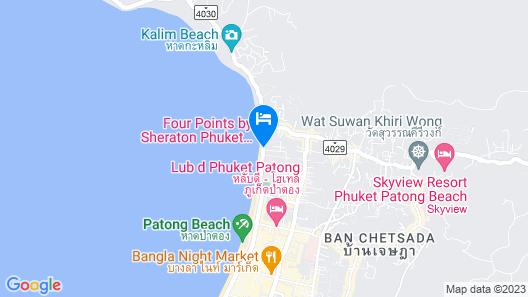 Four Points by Sheraton Phuket Patong Beach Resort Map