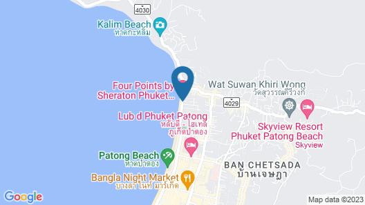 The Charm Resort Phuket Map