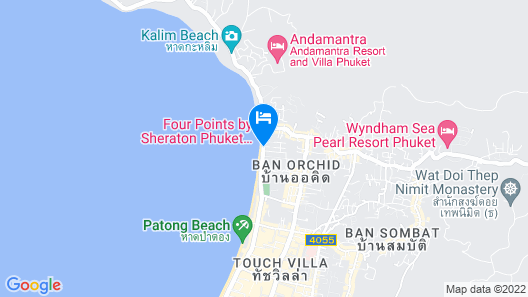 The Charm Resort Phuket Map