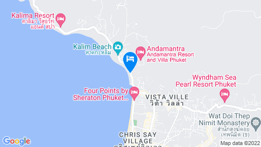 Diamond Cliff Resort and Spa Map