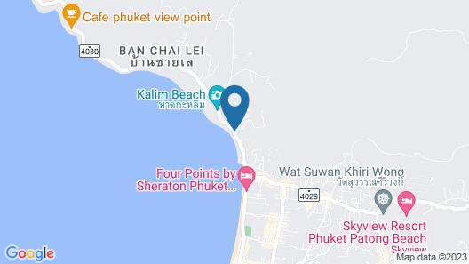Andamantra Resort and Villa Phuket Map