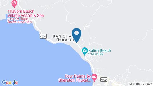 Oceanfront Beach Resort Map