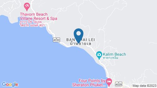 IndoChine Resort & Villas Map