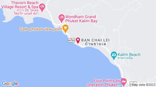 Kalima Resort & Spa, Phuket Map