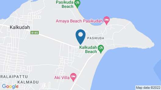 Vasuki Guest House Map