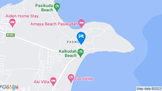 Uga Bay by Uga Escapes Map