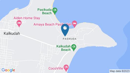 Amethyst Resort Passikudah Map