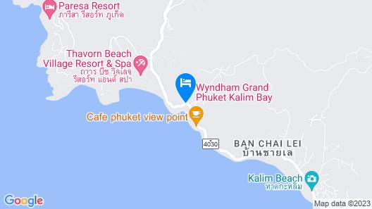 Wyndham Grand Phuket Kalim Bay Map