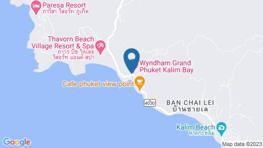 U Zenmaya Phuket Map
