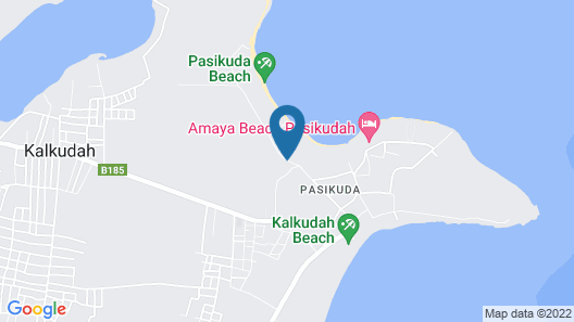 Marina Beach Passikudah Map