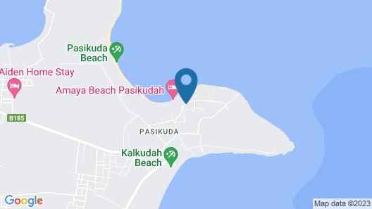 Amaya Beach Pasikudah Map