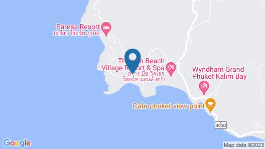 The Naka Phuket Map