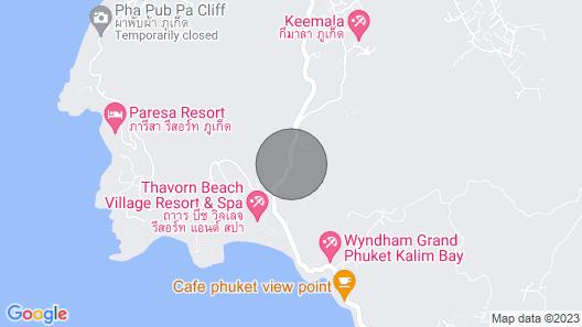 Kamala Luxury Seaview Penthouse Map
