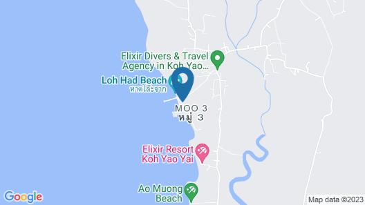 Koh Yao Heaven Beach Resort Map