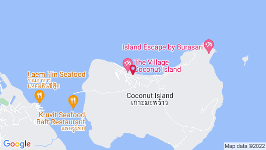 The Village Coconut Island Map